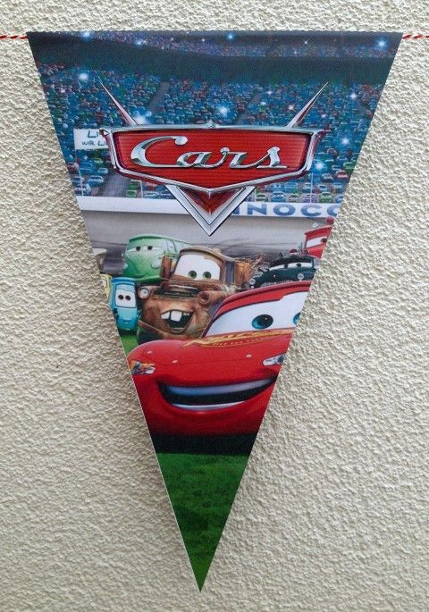 Vlaggenlijn Cars