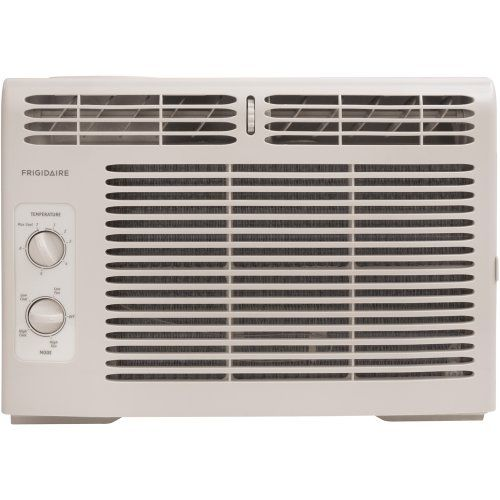 Frigidaire FRA052XT7 5,000-BTU Mini Window Air Conditioner - Frigidaire's FRA052XT7 5,000 BTU Mini Window Air Conditioner is perfect for small size rooms up to 150 square feet. This unit features rotary controls and top full-width air discharge. The