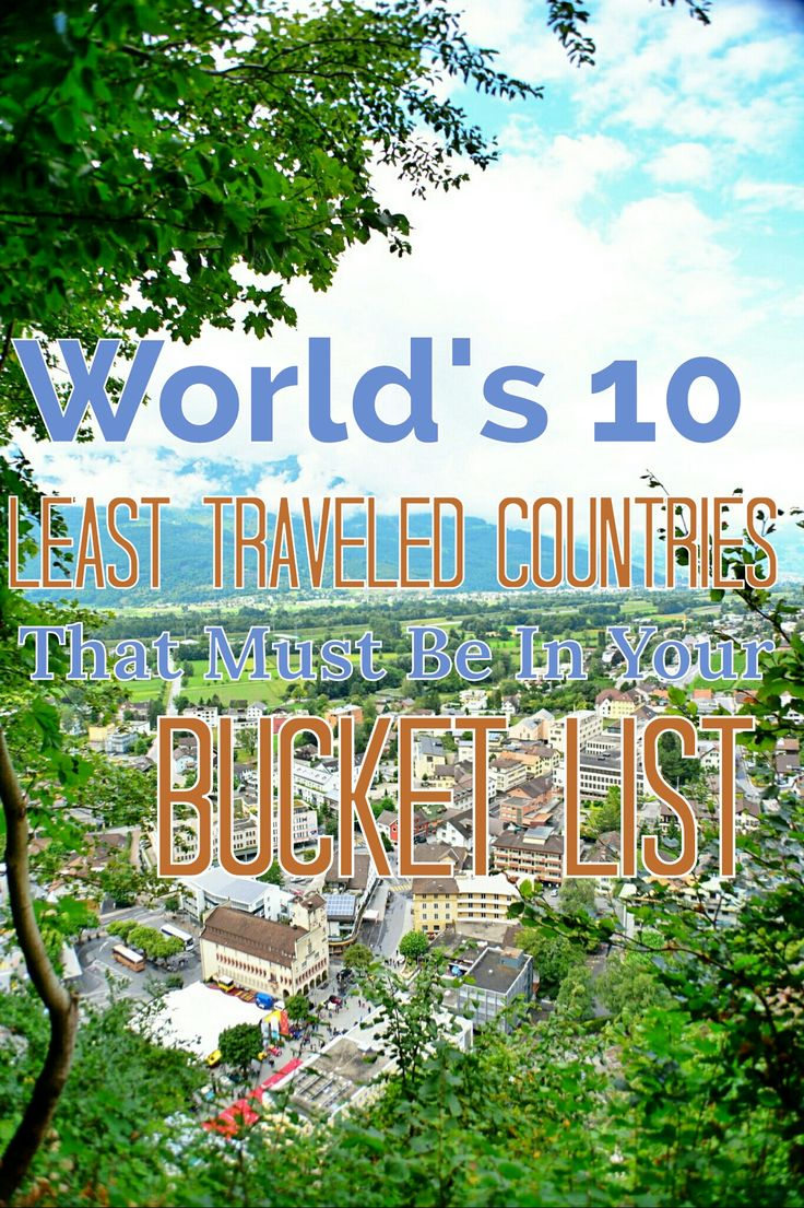 World's 10 Least Traveled Countries That Must Be In Your Bucket List - Man Of Wanders