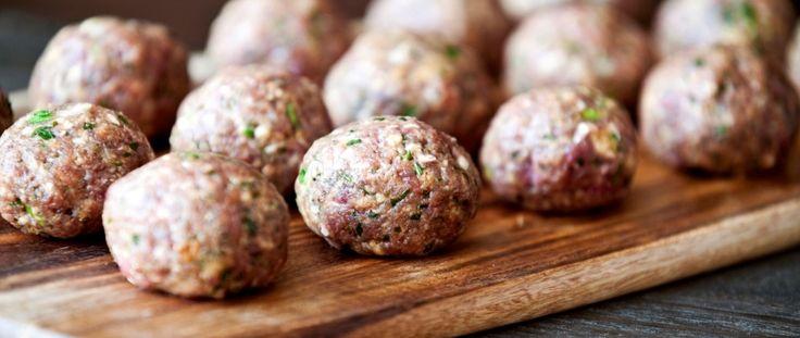 Hambuger in miniatura preparati con pochi semplici ingredienti