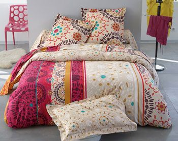 linge de lit rosaces multicolores home pinterest meilleures id es rosace linge de lit et. Black Bedroom Furniture Sets. Home Design Ideas