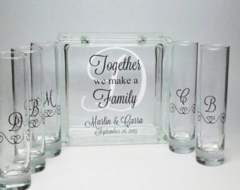 Blended Family Sand Ceremony Set Unity by TheDreamWeddingShop