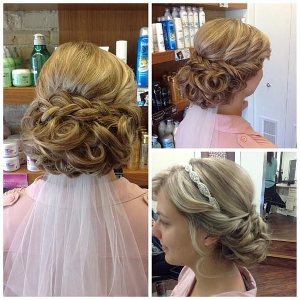 Beautiful bridal style from Salon Entrenous Stylist Cassandra