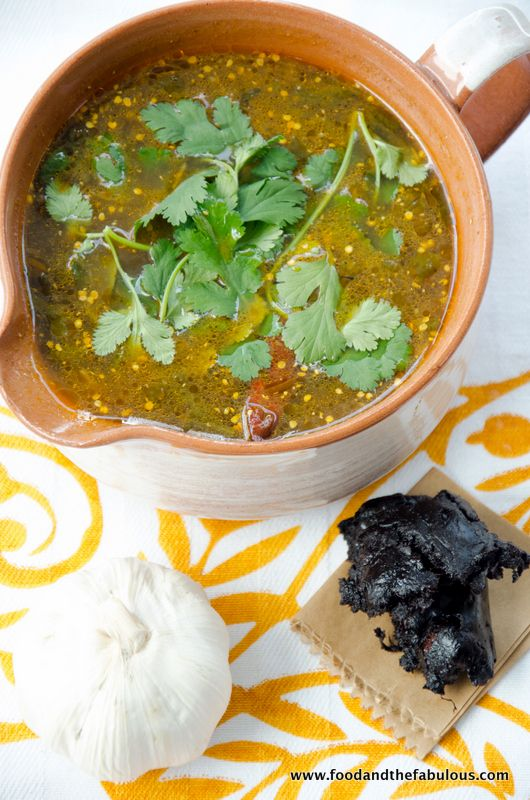 Rasam, a spicy, tangy South Indian soup perfect for colds and flu (vegan)