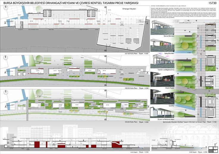 kolokyum.com - Galeri: 1. Ödül - Bursa Büyükşehir Belediyesi Orhangazi Meydanı ve Çevresi Kentsel Tasarım Proje Yarışması