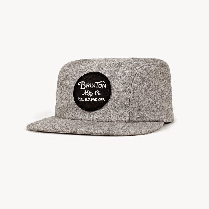BRIXTON Cap MILL 2 heather grey brought2U-find your favourite products