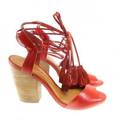 Sandália Vermelha 3212
