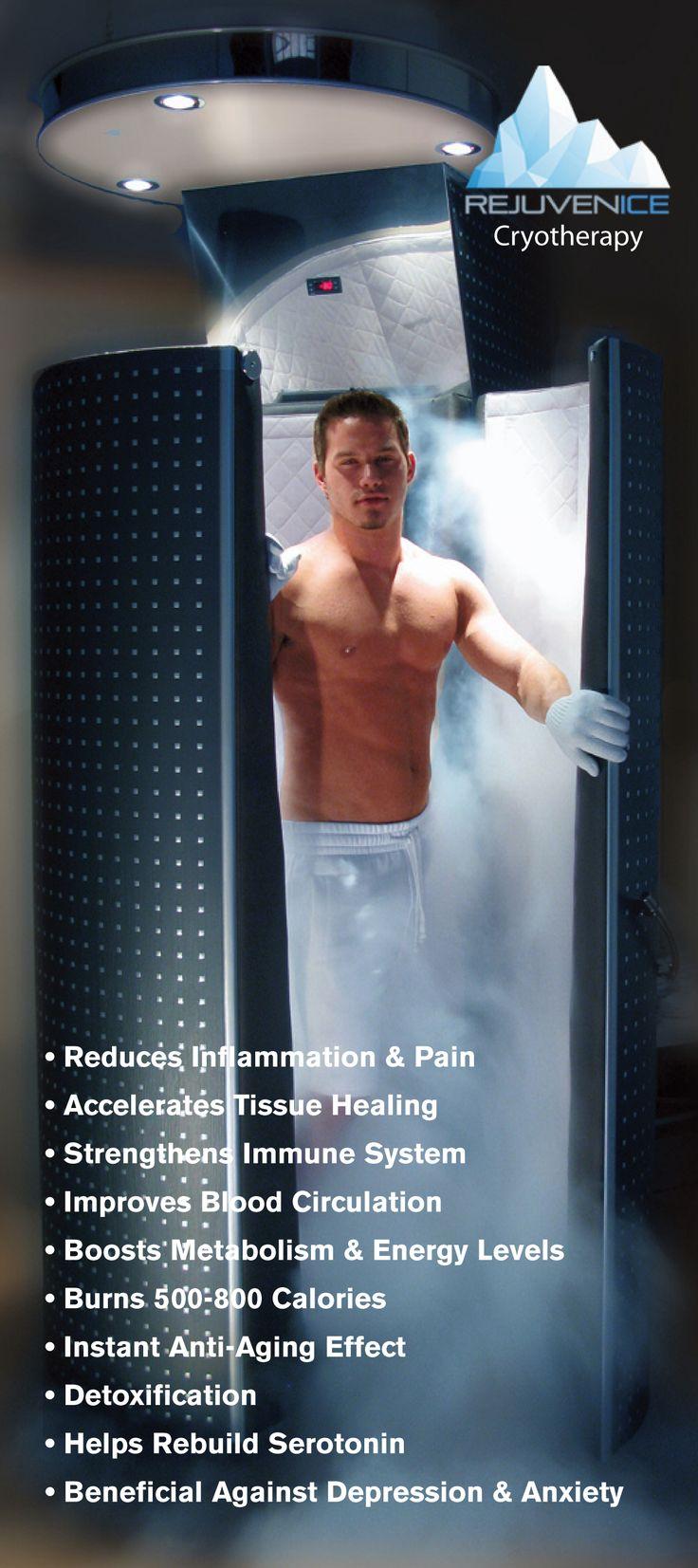 Cryotherapy benefits at Wellgenics