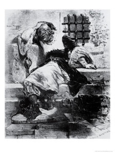 """The Man in the Iron Mask (died November 1703) was a prisoner held in a number of Jails (including the Bastille) during the reign of King Louis XIV of France. The true identity of the man is unknown because no one ever saw his face which was hidden by a black velvet mask. Fictional retellings of the story refer to the mask as an """"Iron"""" mask. The first records that mention the prisoner are from 1669 when Louis XIV's minister placed the prisoner in the care of the governor of the prison of…"""