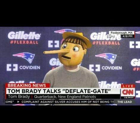 TOM BRADY TALKS DEFLATE-GATE