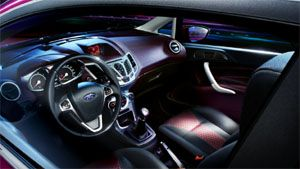 Ford Fiesta Hatchback Interior