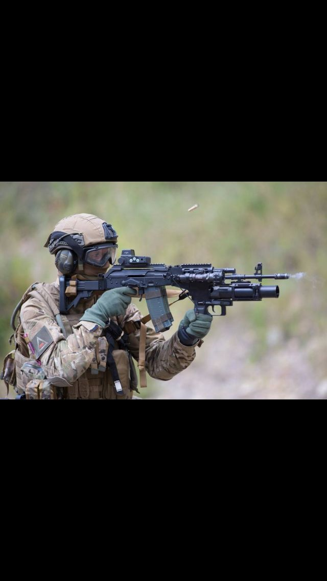 Special Forces ...A very very well apgreated AK 105