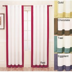@Overstock.com - Update your home decor with a classic, modern style with these Passage panel drapes. Lined for privacy and efficiency, these drapes feature a luxurious silk construction.http://www.overstock.com/Home-Garden/Passage-Silk-108-inch-Curtain-Panel/6589178/product.html?CID=214117 $47.99