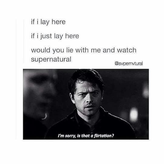 I and my boyfriend literally just cuddled on his couch, watched supernatural together, and called it a date - mine doesn't want to watch it :(