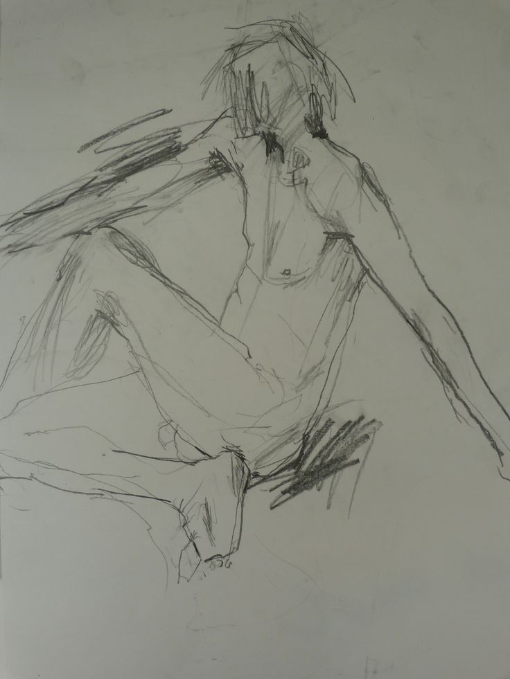 Life drawing - Helen Kennedy