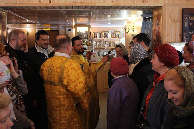 Богослужение 6 ноября 2016 года — Храм в честь иконы Божией Матери «Умягчение злых сердец» в Конькове города Москвы