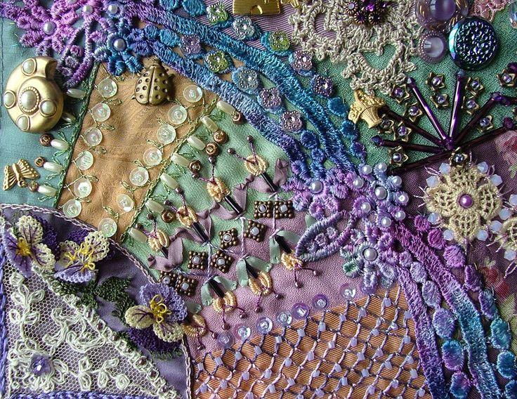 916 best crazy quilt stitches images on Pinterest | Crafts ... : crazy quilt definition - Adamdwight.com