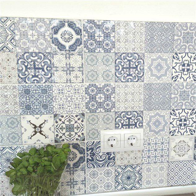 Flis Hill Ceramic Porto Blå 20x50 5568656986