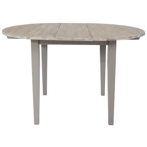 florence extending round dining table in grey casafina ausziehbarer esstischrunde esstischeflorenzesszimmer - Erweiterbar Runden Podest Esstisch