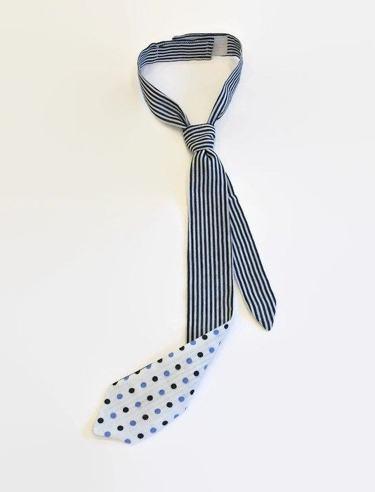 Free shipping two-sided skinny baby boy tie by BeTheOriginal