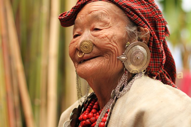 Living History by Heema Rai on 500px  Ornate exclusive jewelry of an old woman. She is from the Kirat Kulung Community of Nepal (Eastern Region). #silver #Kirat #tradition