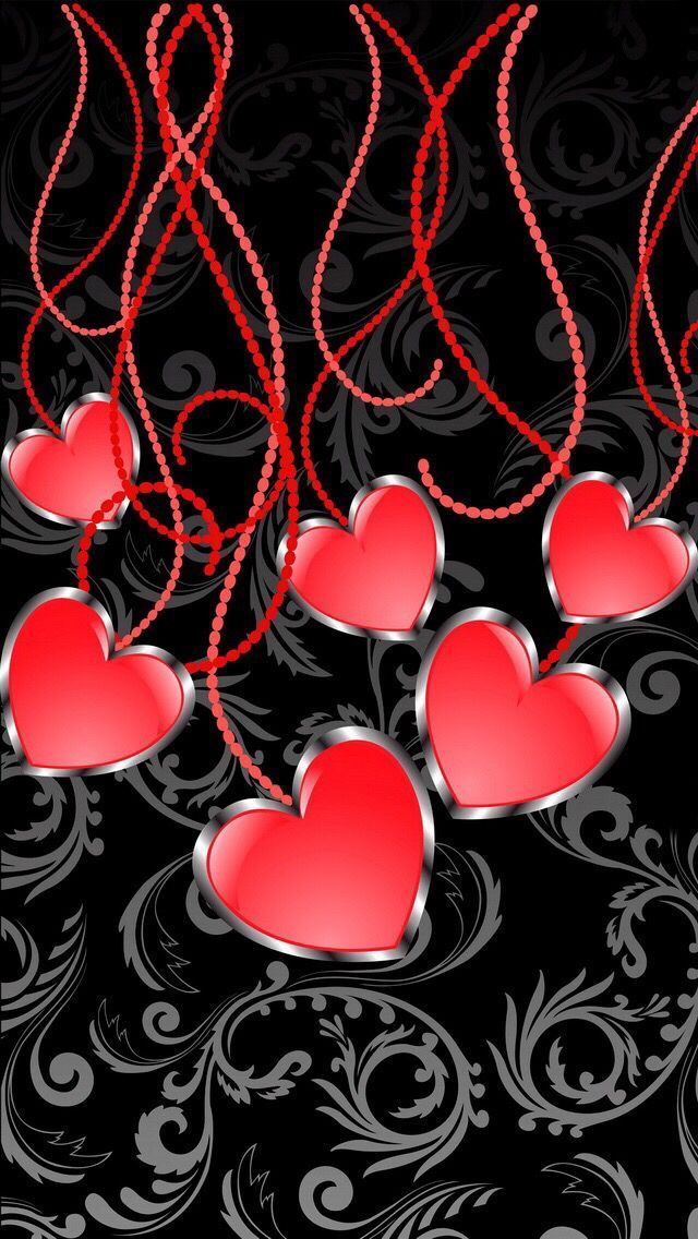 638 Best HEARTS WALLPAPERS BACKGROUNDS Images On Pinterest