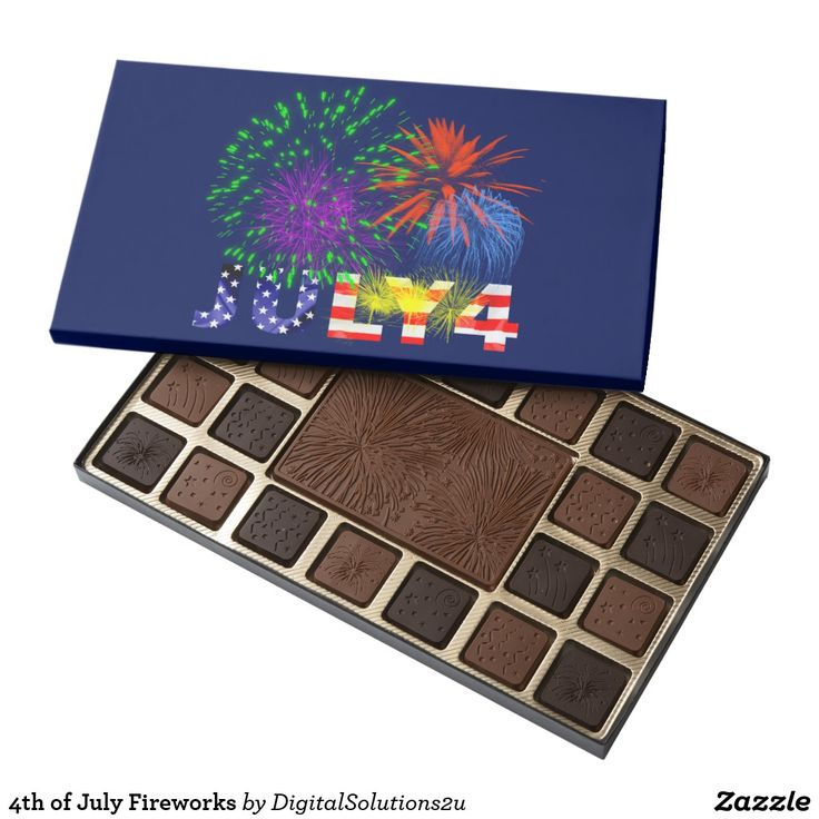 4th of July Fireworks Assorted Chocolates