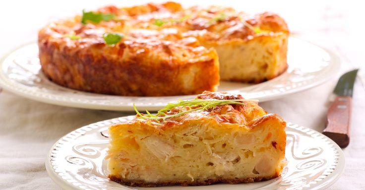 Crustless Chicken Cauliflower Quiche