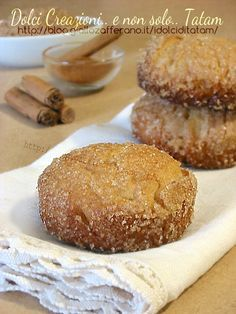Cinnamon and brown sugar cookies - Biscotti alla cannella e zucchero di canna