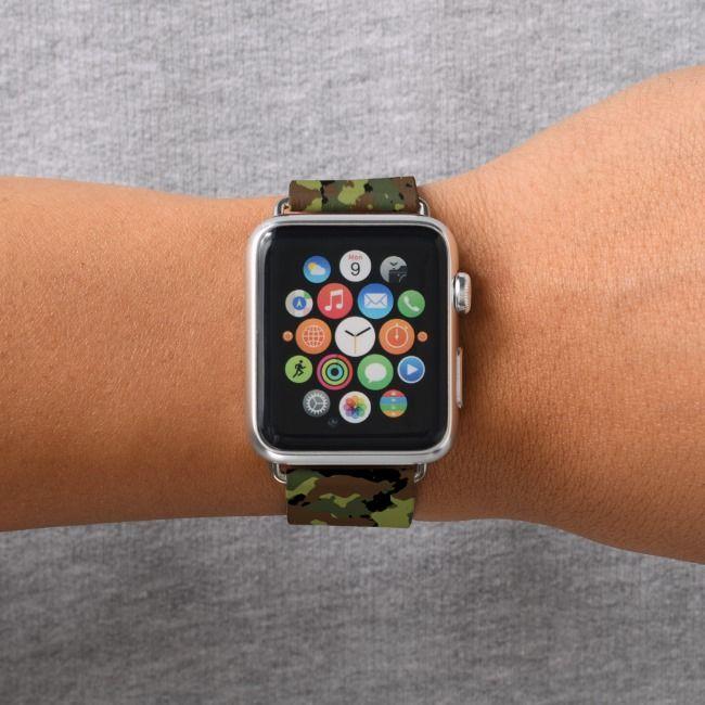 Tiger Stripes Animal Pattern Apple Watch Band Zazzle Com Apple