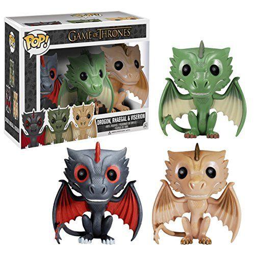 Funko POP! Game of Thrones Exclusive 3-pack Drogon, Rhaegal and Viserion Vinyl Figures FunKo http://www.amazon.com/dp/B00K8CXAXY/ref=cm_sw_r_pi_dp_nBWRub1ZXVA8X