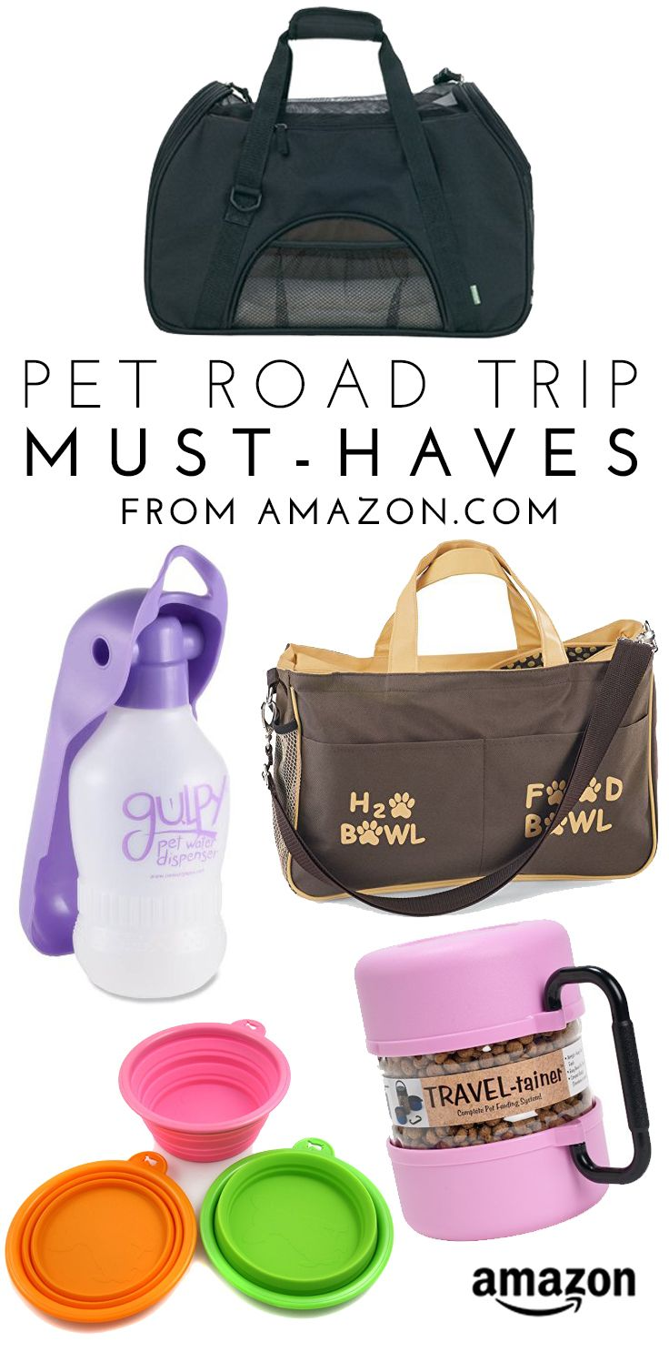 Pet Road Trip Must-Haves from Amazon.com