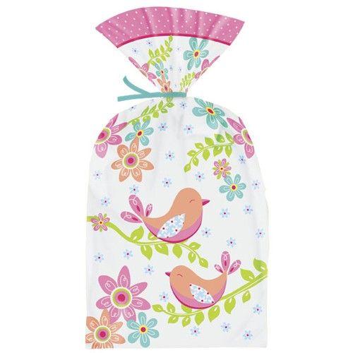 Verpak al je voorjaars en Paas traktataties in deze vrolijke party bags van Wilton!