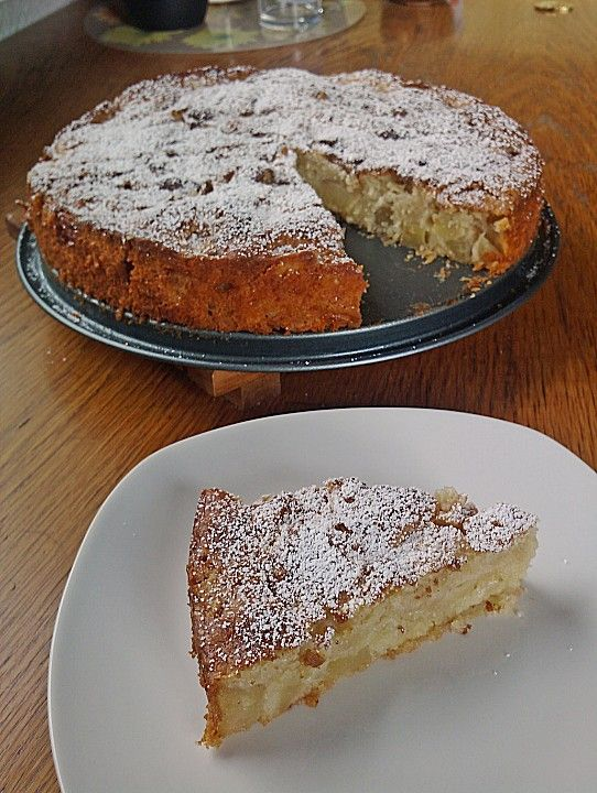 Apfel - Frischkäse - Rührkuchen