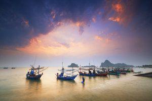 Prachuap Khiri Khan - Boats