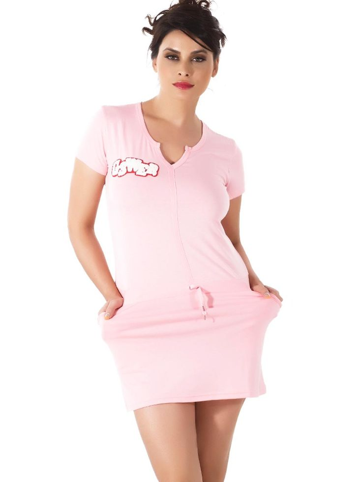 Shyle Pink Lounge Wear