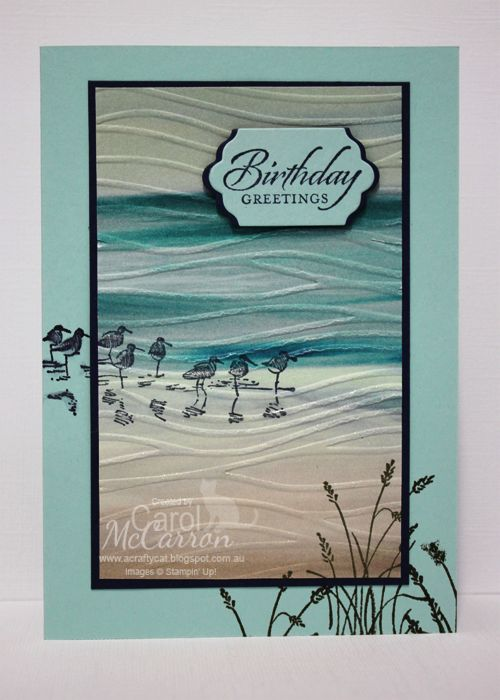 541 best wetlands retired images on pinterest diy cards this is an awesome card made using the wetland stamp set by stampin up masculine birthday bookmarktalkfo Choice Image