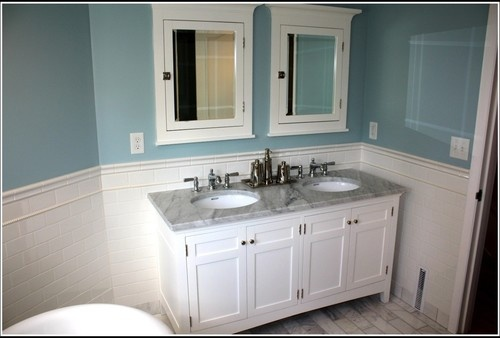 What i 39 d change the two single sinks change them to an - The singular bathroom ...