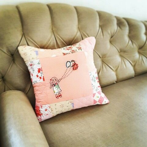 Pillow cover patchwork quilt