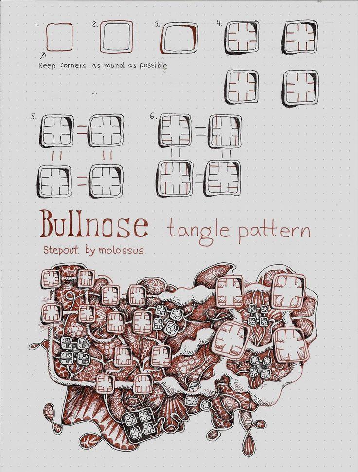 Life Imitates Doodles: New Tangle Pattern Bullnose & Zentangle® Renaissance Tool Set Review #Zentangle #SakuraOfAmerica #TanglePatterns