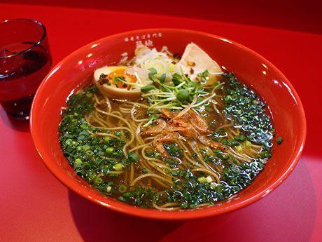 築地場外市場に「海老そば」専門店-甘エビの頭を使ったスープと麺(写真ニュース) - 銀座経済新聞