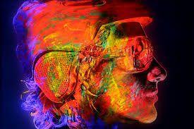 Resultado de imagen para pintura neon