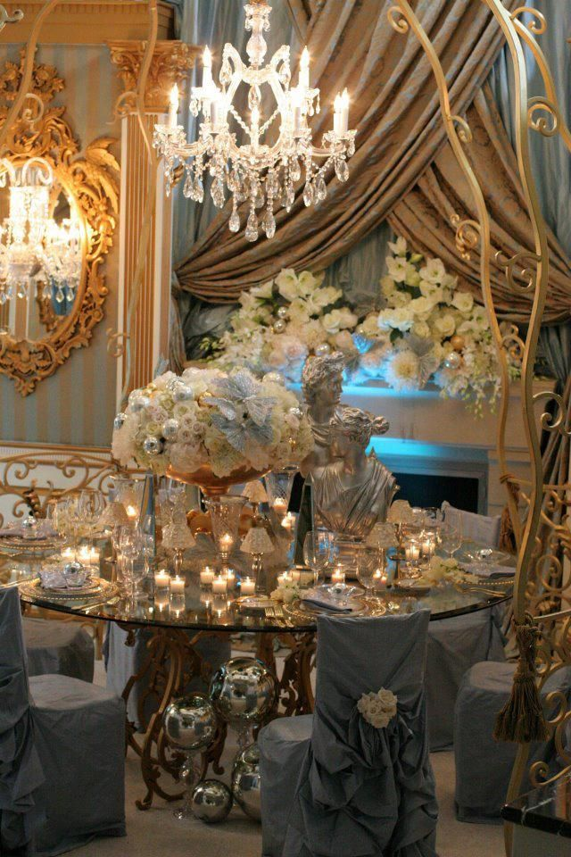 187 best new year 39 s eve table settings images on pinterest for Hotel wedding decor