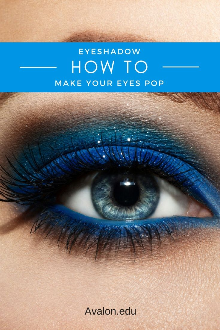 Learn how to enhance your eyes based on your eye color. By using certain makeup colors, your eyes can stand out and get they attention they deserve. Make your eyes really POP --> http://avalon.edu/2017/08/how-to-make-your-eyes-pop/