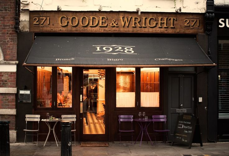 places to go in London / London restaurants Goode and Wright restaurant in Notting Hill