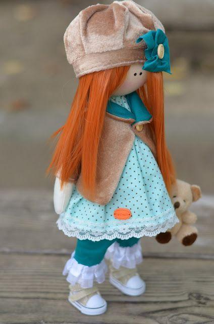 Elena Take hobby: Девочка с рыжими волосами