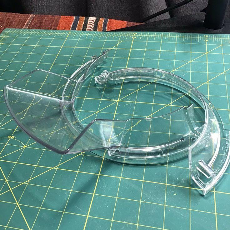 Kitchen aid tilt head stand mixer kps2cl 2 piece pour