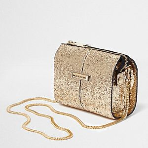 Glitter Chain Crossbody Bag from River Island R440,00