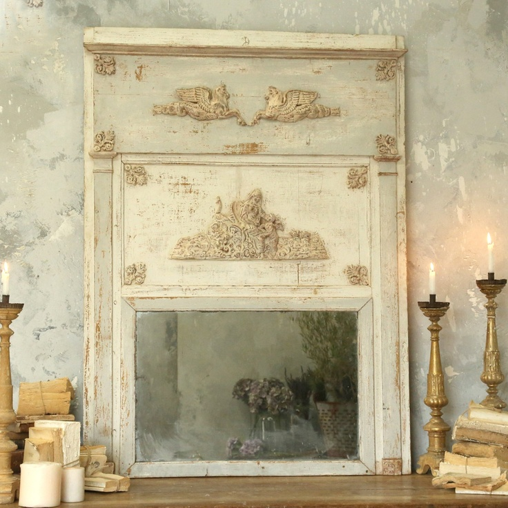 Stunning #Antique Empire Style #Trumeau #Mirror $7695.00 #thebellacottage