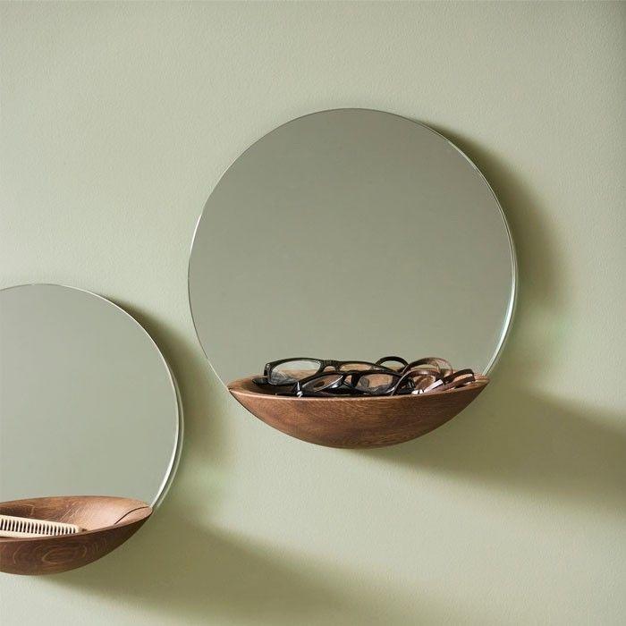 Woud Pocket Spiegel In 2020 Wandspiegel Rund Wandspiegel